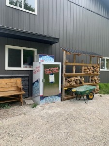 Firewood and Ice available