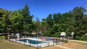 Camp pool Open morning until dusk